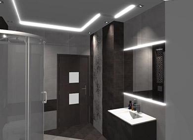 łazienka umywalka kabina prysznicowa